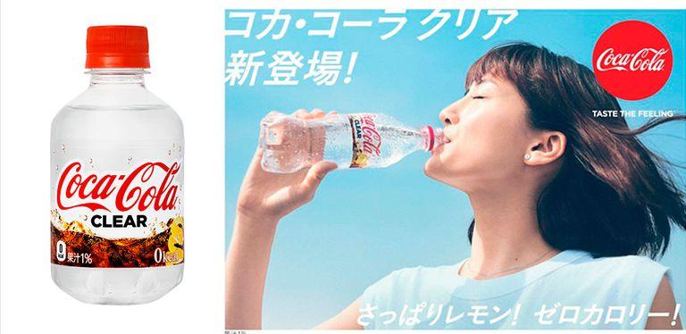 coca cola clear 1 - Coca-Cola Clear, la nueva gaseosa versión transparente