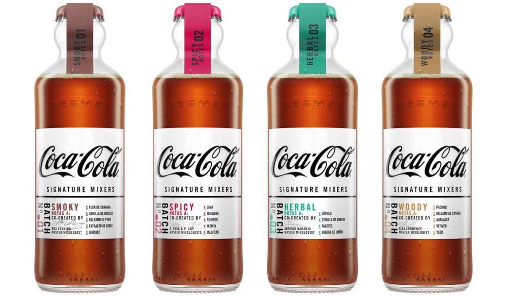 coca cola mixers - Coca Cola lanza 4 nuevos mixers para destilados oscuros