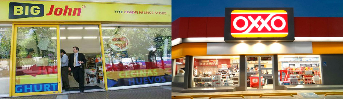 collage big john oxxo - Femsa prevé expandir Oxxo en el sector retail chileno
