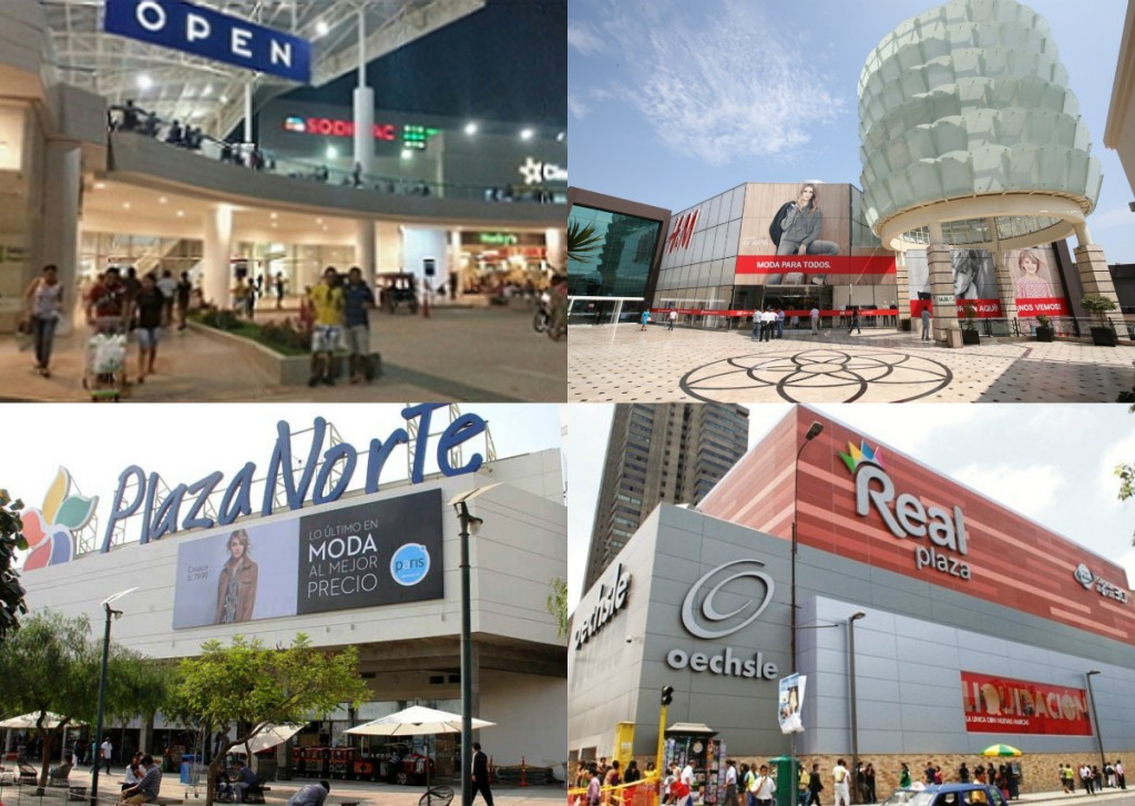 collage malls peru retail