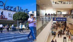 collage plaza norte mall del sur 1 240x140 - Plaza Norte y Mall del Sur facturarían más de S/ 2 mil millones de soles entre ambos en Perú