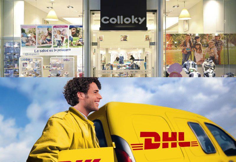 colloky y dhl - Perú: Colloky se alía a DHL para realizar delivery en provincias