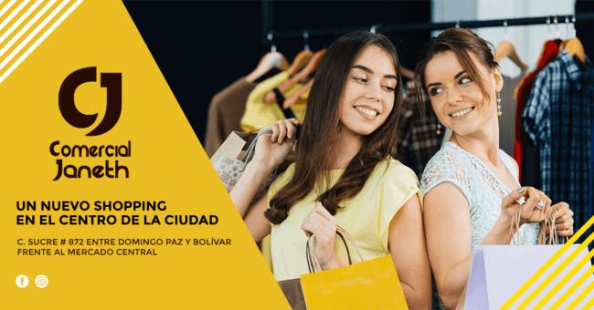comercial janeth bolivia - Bolivia: El complejo Comercial Janeth abre sus puertas con innovadora propuesta de moda