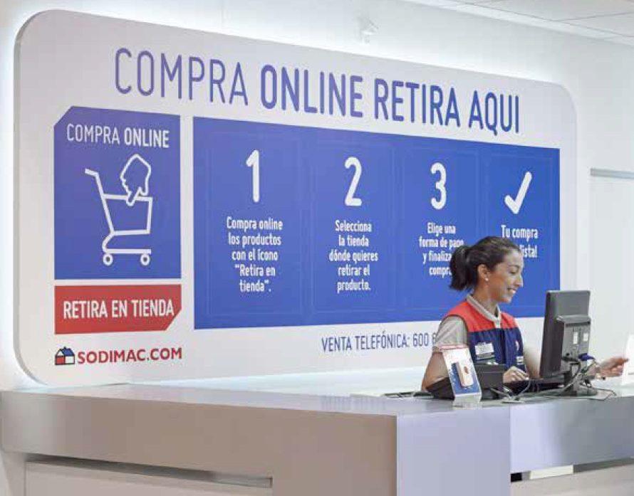 compra online sodimac - Falabella impulsa la omnicanalidad en todos sus negocios