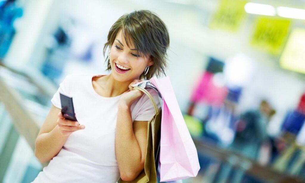 comprando con smartphone
