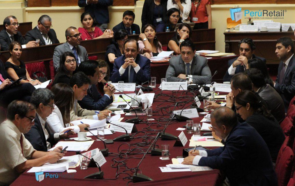 congreso 1 1024x647 - Indecopi apoya ley de control de fusiones empresariales