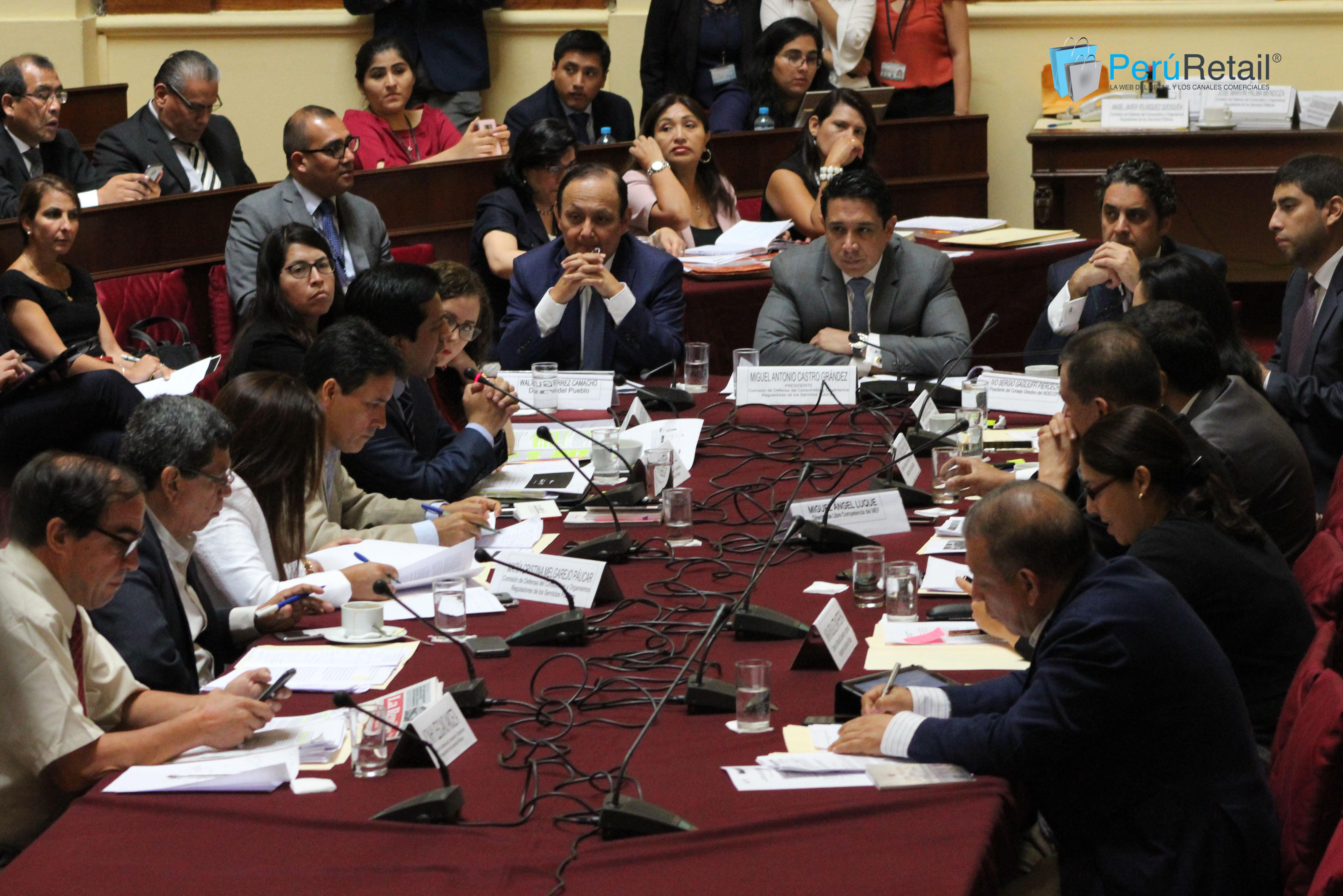 congreso1 - Congreso acelerará debatir una ley de control de fusiones, tras caso Inkafarma