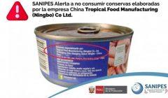 conserva de pescado sanipes 240x140 - Alerta sanitaria por conservas de pescado con parásitos