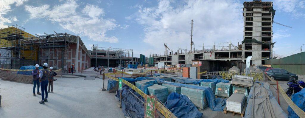 construcción mallplaza comas1 1024x396 - Perú: Mira cómo está quedando el Mallplaza Comas   FOTOS