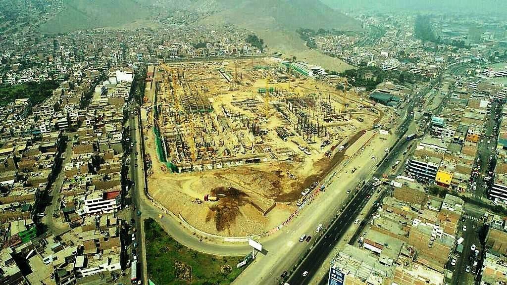 construccion real plaza puruchuco 7 2 1024x576 - Real Plaza Puruchuco se convierte en el mall con diseño sostenible más grande del mundo