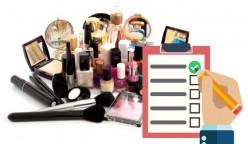 control de registro de cosméticos
