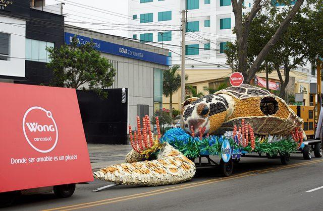 corso wong 2 Perú Retail - Corso de Wong: Cerca de 300 kilos de plásticos recolectados tendrán una segunda vida