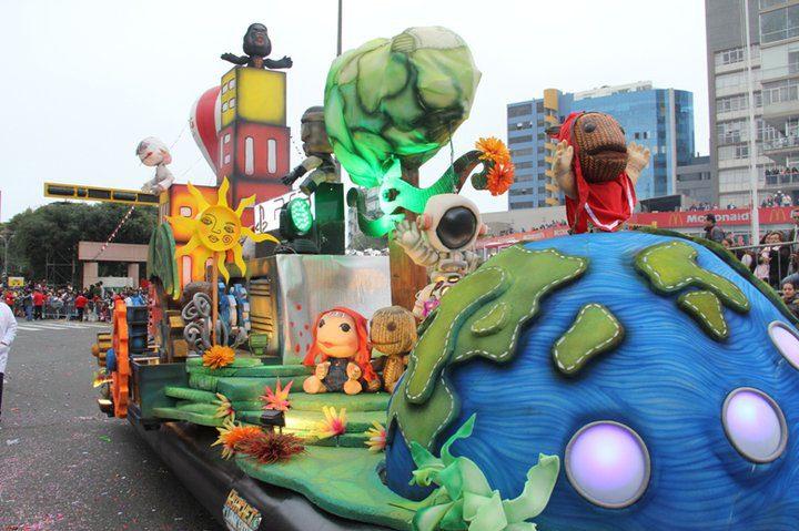 corso wong Perú Retail - Carros alegóricos del Gran Corso de Wong se confeccionarán con reciclaje