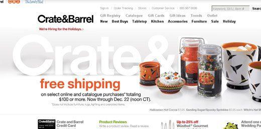 Cu nto importa el 39 toque humano 39 en el sector retail for Crate and barrel peru