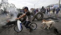 crisis en ecuador 248x144 - Ecuador: Quito empieza a quedarse sin alimentos por bloqueo de carreteras