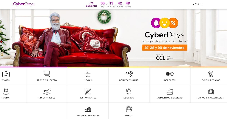cyber day edicion navidad 2017 - ¿Qué es lo más vendido en los Cyber Days en el Perú?