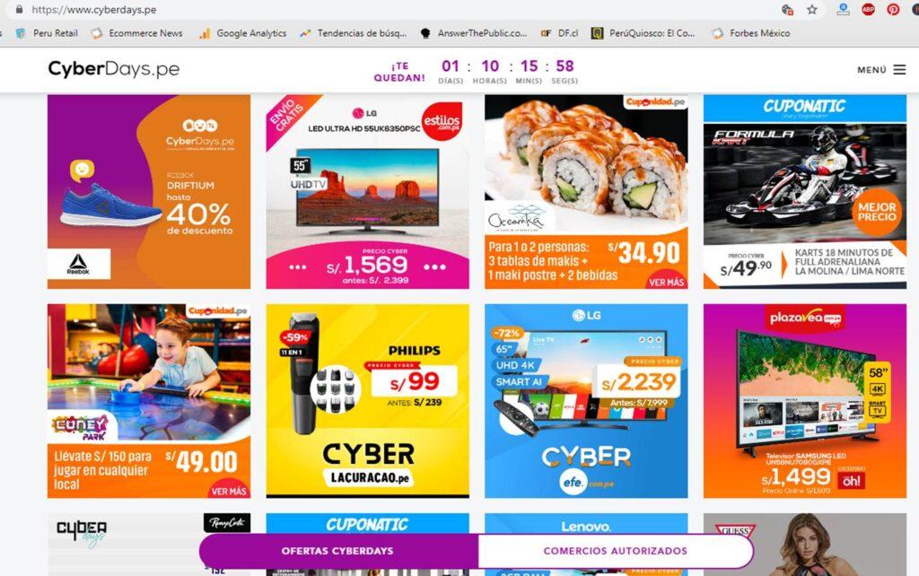 cyber days 2019 Perú Retail 1024x642 - Estas son las ofertas más destacadas que te ofrece el Cyber Days