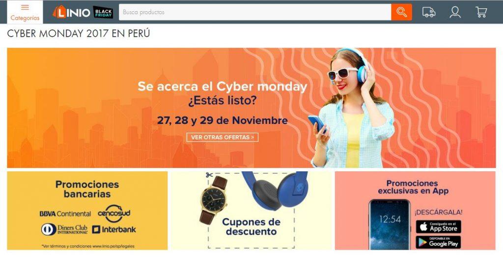 cyber monday linio 1024x525 - Linio celebrará el Cyber Monday y Black Friday en el Perú