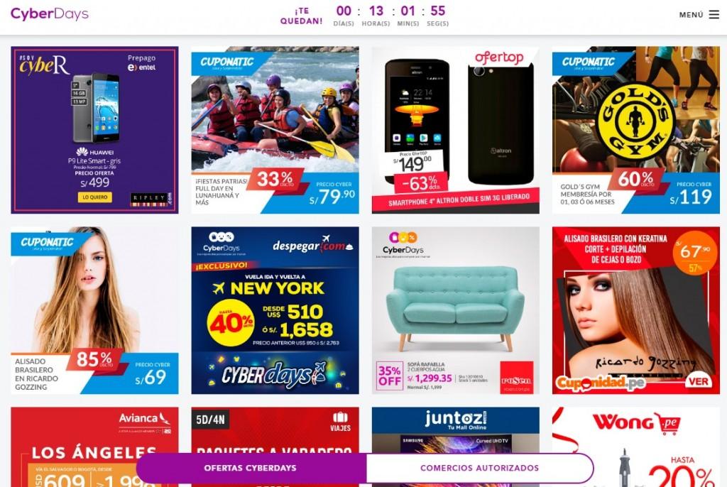 cyberdays 2017 1024x686 - Perú: CyberDays 2019 tendrá tres tandas horarias de precios boom