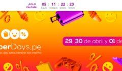 cyberdays 240x140 - Perú: ¿Cuáles son las marcas que ofrecerán descuentos en el Cyber Days?