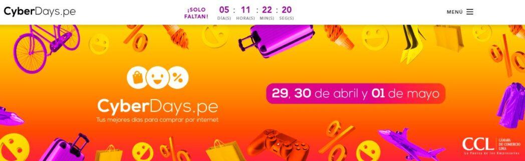 cyberdays - Perú: ¿Cuáles son las marcas que ofrecerán descuentos en el Cyber Days?