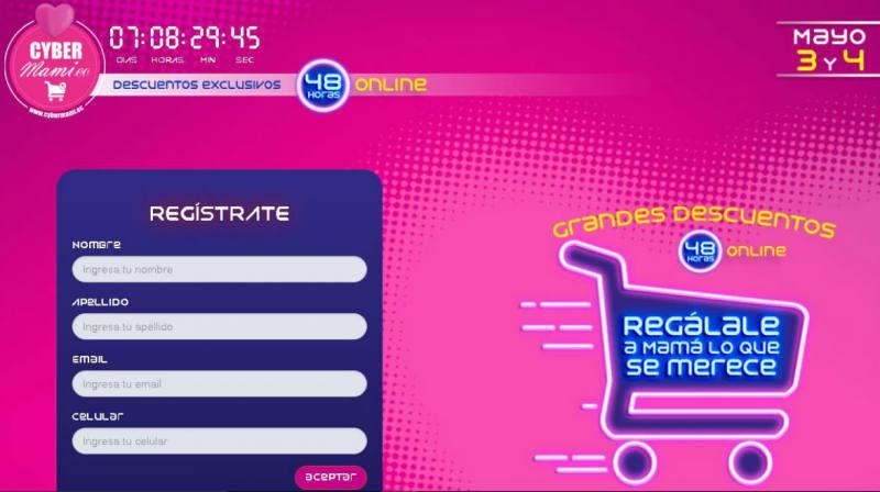 cybermami - Ecuador: Más de 22 marcas participarán en el Cybermami este 3 y 4 de mayo