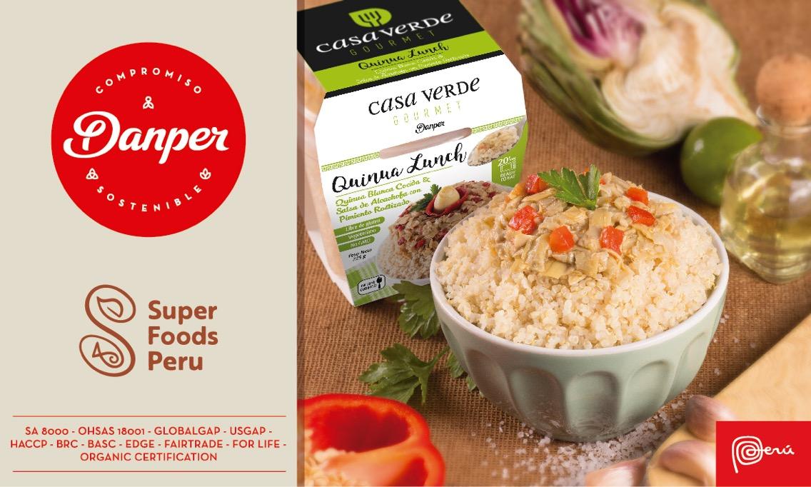 danper superfoods - PROMPERÚ nombra a Danper como embajador de la marca Superfoods en el mundo