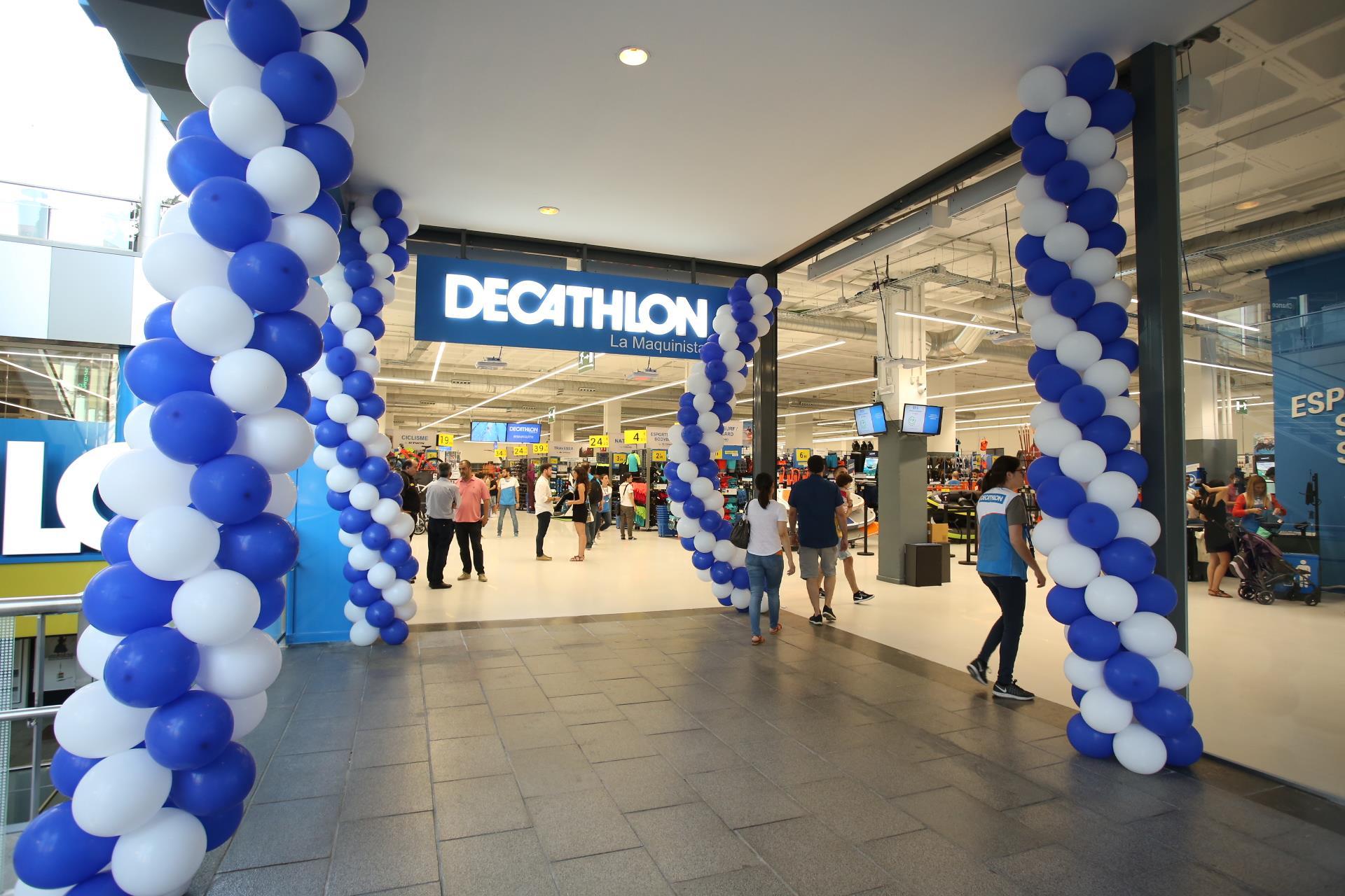 Decathlon abri una nueva tienda en el centro comercial la - Centro comercial maquinista barcelona ...