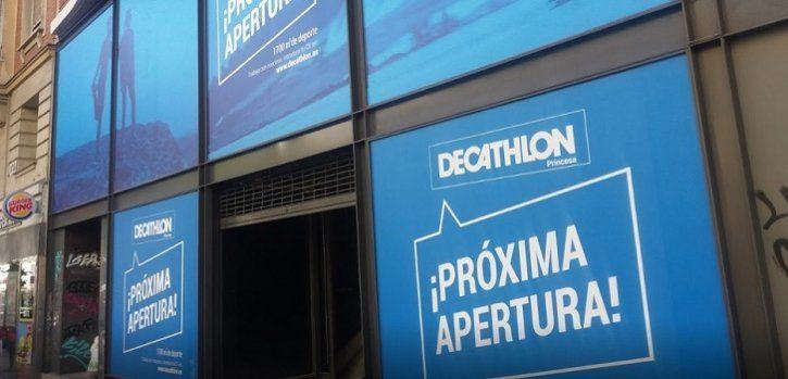 decathlon calle princesa madrid 728 - Decathlon cerrará el 2017 con un total de 166 tiendas en España