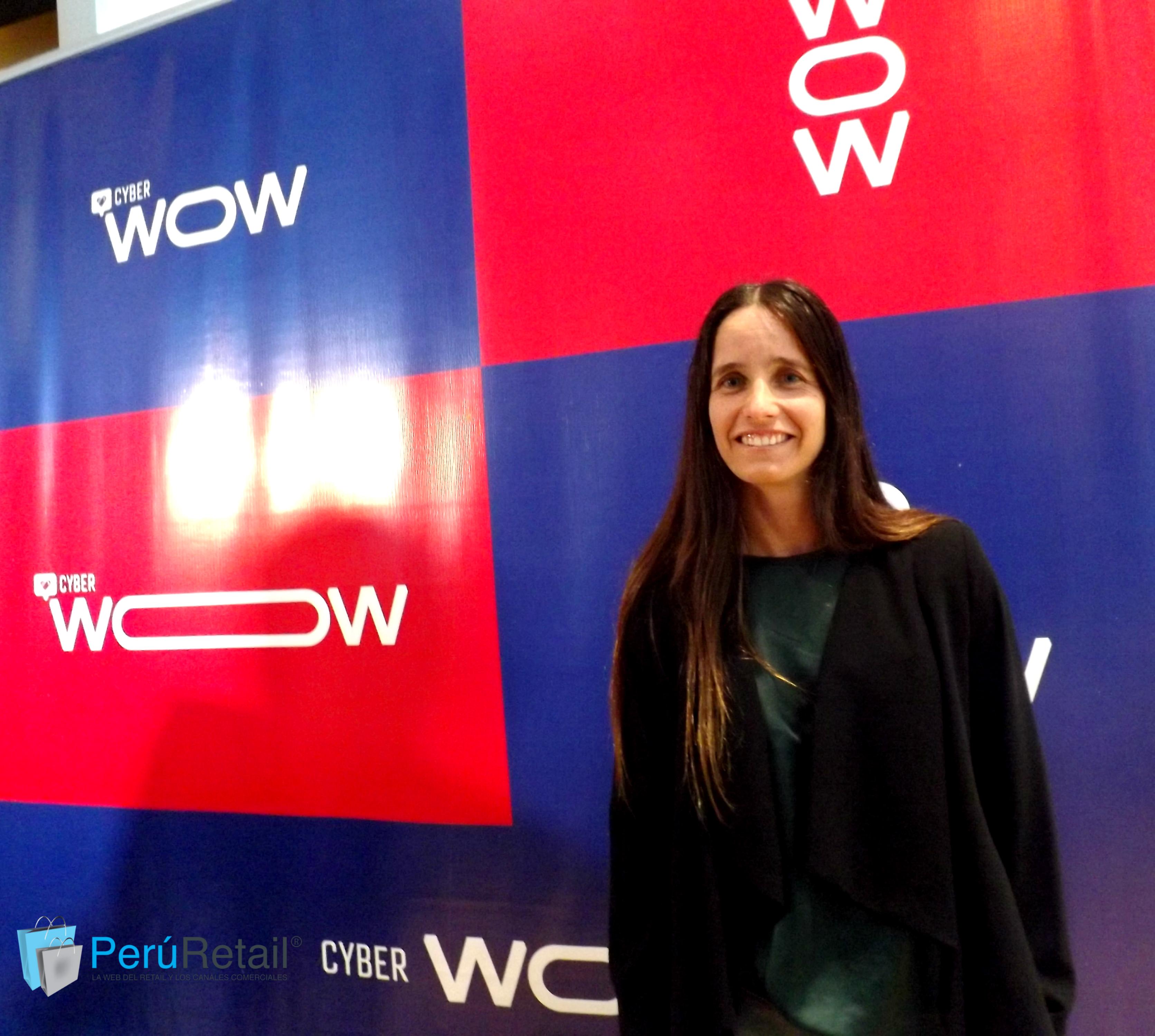 Denise Labarthe, gerente central de ecommerce de Saga Falabella.