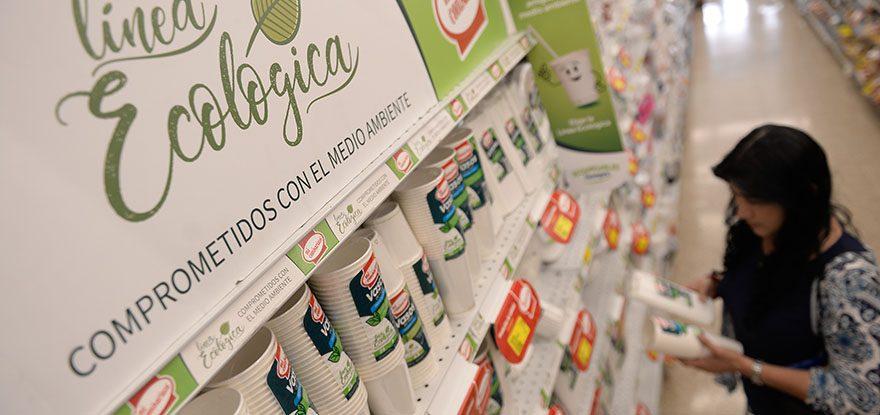 descartables ecologicos perú retail 3 - Ecuador: Estos son los desechos orgánicos que sustituyen al plástico en supermercados