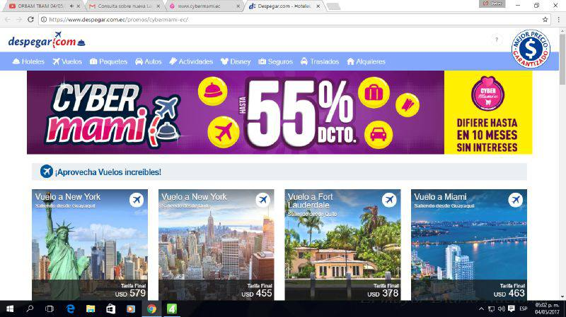 despegar cybermami - Ecuador: Más de 22 marcas participarán en el Cybermami este 3 y 4 de mayo