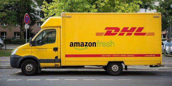 dhl amazon 590x295 - Amazon continúa desarrollando su negocio de alimentos frescos en Europa