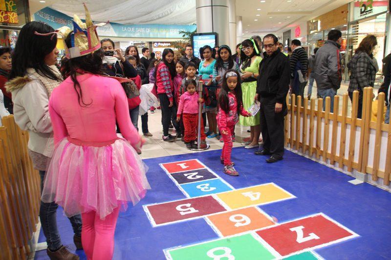 dia del niño Plaza Norte Juegos del Ayer