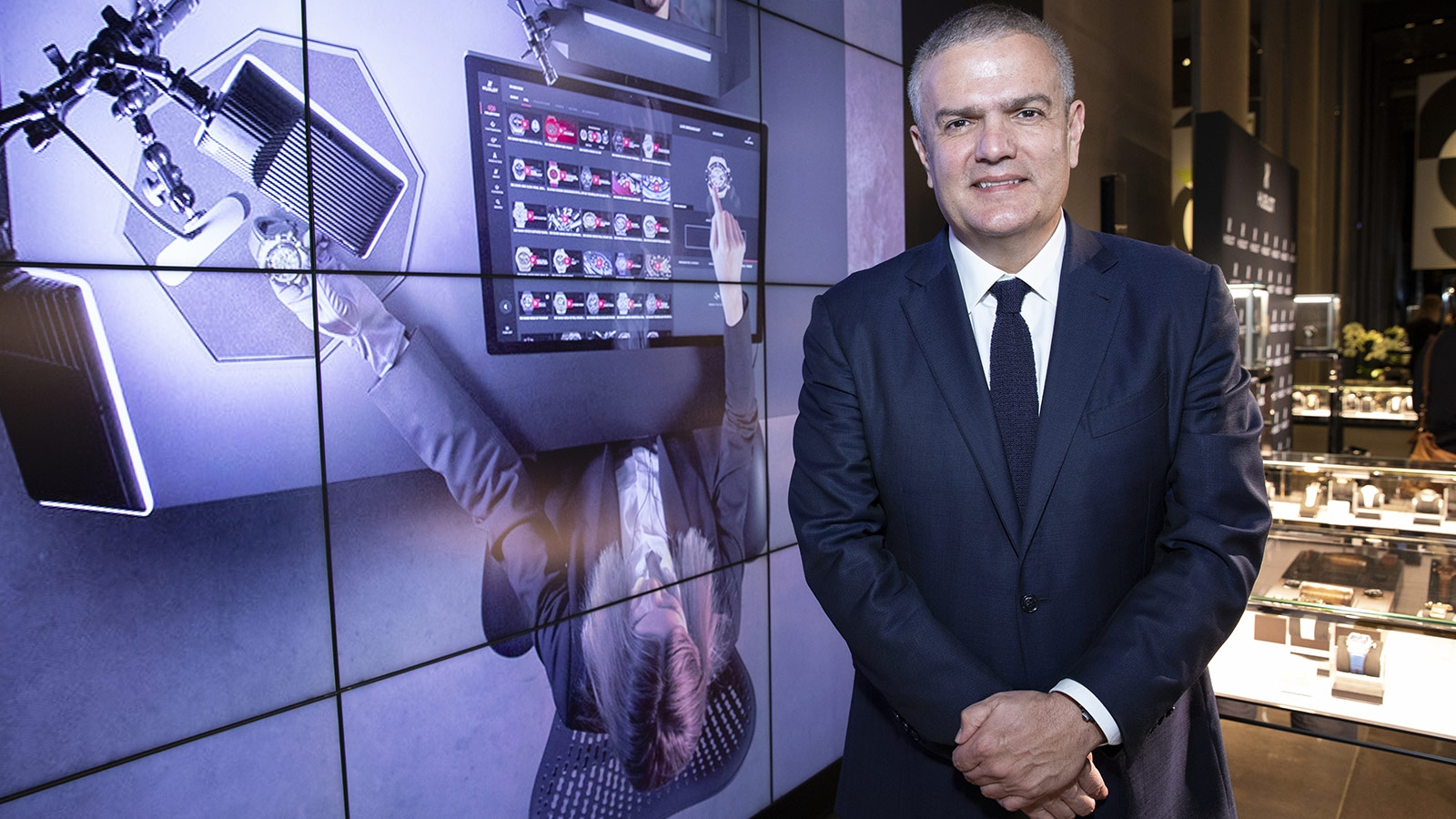 digital boutique hublot 2018 010 1 - Hublot busca estar a la vanguardia con una boutique digital
