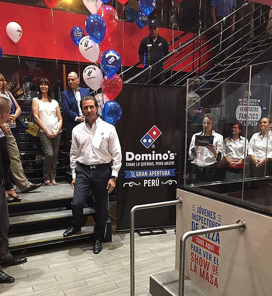 dominos Jose Luis Camino Apertura Dominos Chorrillos opt - Domino's Pizza podría ingresar a dos de los malls más importantes de Lima
