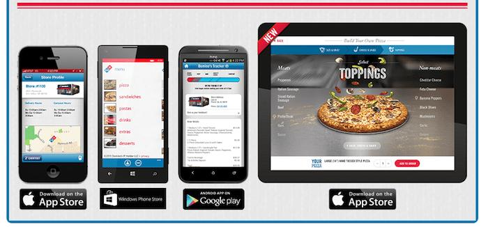 dominos captura - ¿Cómo utiliza Domino's Pizza la tecnología para atraer a los millennials?