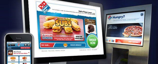dominos ecommerce peru retail - ¿Cómo se desarrolla el mercado de la pizza en Perú?