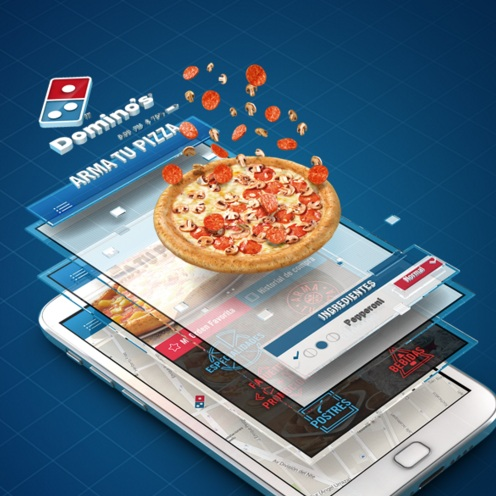 dominos pizza app