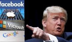 donald trump 240x140 - Apple, Facebook, Google, Twitter y Microsoft se enfrentan contra Trump
