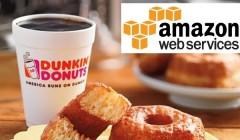 dunkin' donuts y amazon