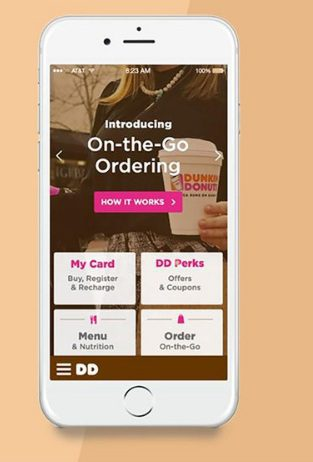 dunkin on the go ordering