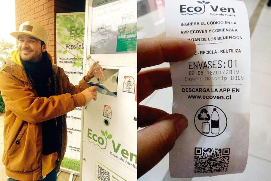 ecoven maquinas para reciclar - Perú: ¿En qué malls se ubican las máquinas recicladoras que entregan vales de consumo y comida gratis?