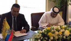 ecuador y emiratos árabes 2 240x140 - Ecuador estrecha relaciones comerciales con Emiratos Árabes