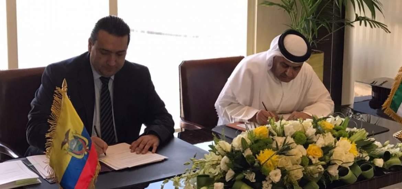 ecuador y emiratos árabes 2 - Ecuador estrecha relaciones comerciales con Emiratos Árabes
