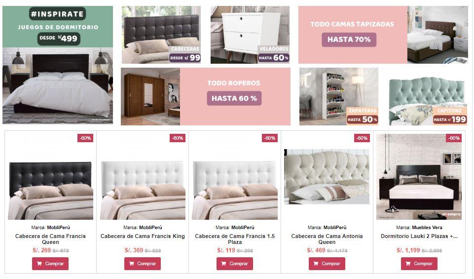 ekompra productos - Perú: Lanzan plataforma de e-commerce de venta de artículos para el hogar