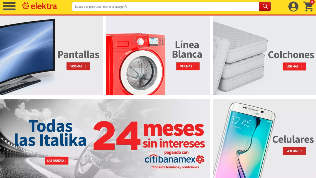 """eletra web - Elektra: """"Nuestro compromiso es ofrecer la mejor experiencia de compra omnicanal"""""""