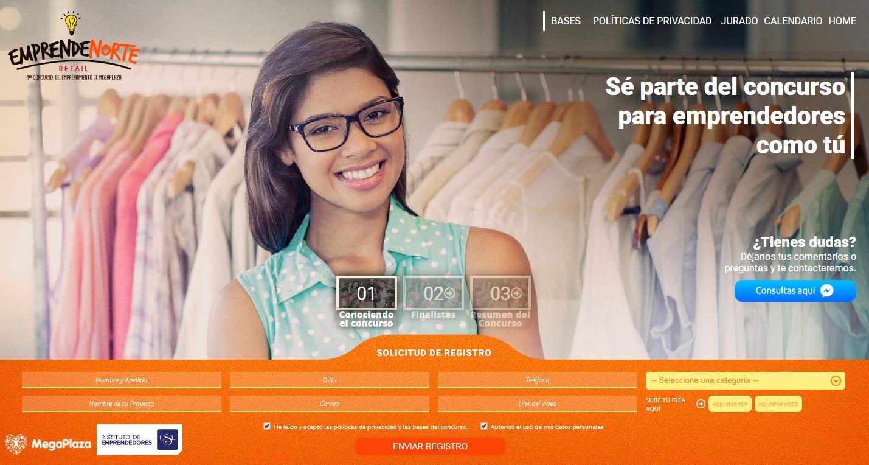 emprendenorte web - MegaPlaza y USIL realizan charla gratuita de asesoría para emprendedores