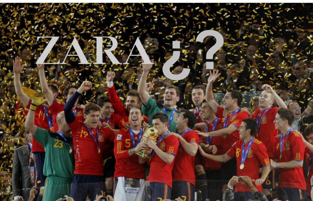 equipo de fútbol españa - ¿ZARA vestirá a la selección española de fútbol?
