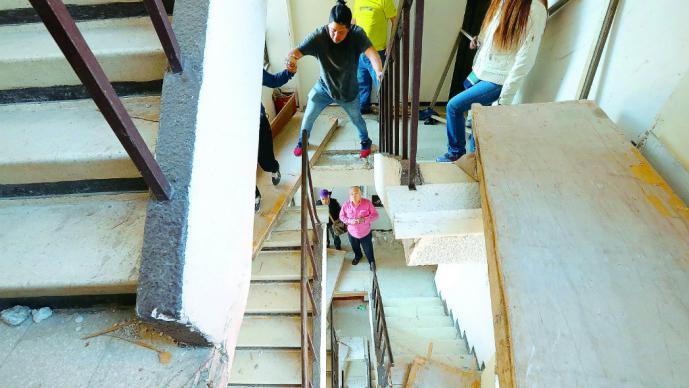 escaleras -Perú Retail